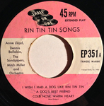 Anne Lloyd, Dennis Ballabia & The Sandpipers - I wish I had a dog like Rin Tin Tin
